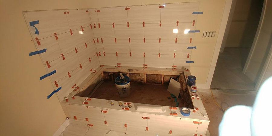 Tile Bathroom Project