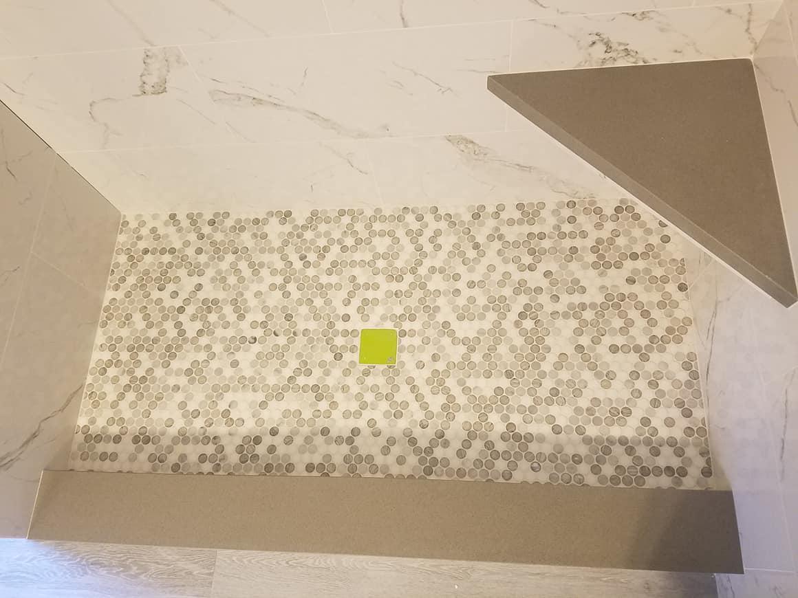 Bathroom tile shower pic 2