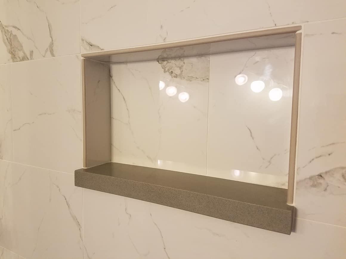 Bathroom tile shower pic 3