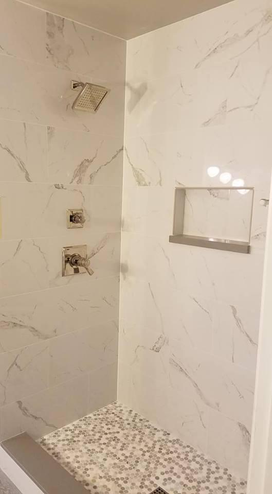 Bathroom tile shower pic 4