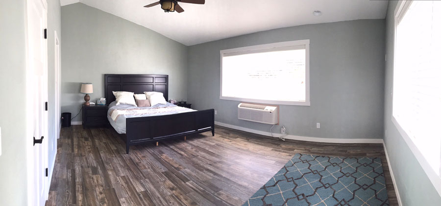 Bedroom Luxury Vinyl Flooring