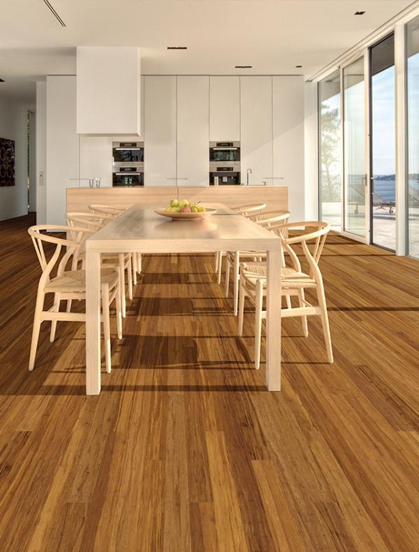 Teragren Solid Strand Narrow Plank Bamboo Xcora Java